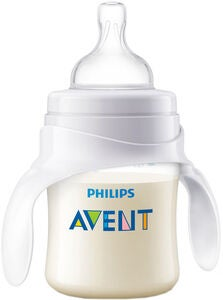 Philips Avent Anti-Kolik Träningsmugg 120ml, Vit