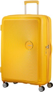 American Tourister Soundbox Spinner Resväska 97L, Golden Yellow