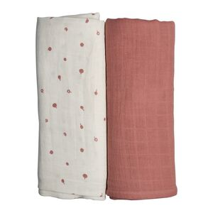 Fabelab Swaddle 2-Pack, Wild Berry