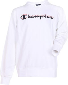 Champion Kids Crewneck Tröja, White