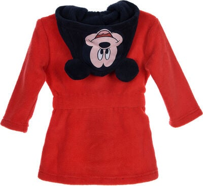 Disney Musse Pigg Morgonrock & Tofflor, Red