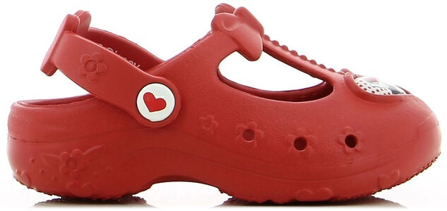 Disney Mimmi Pigg Clog, Red