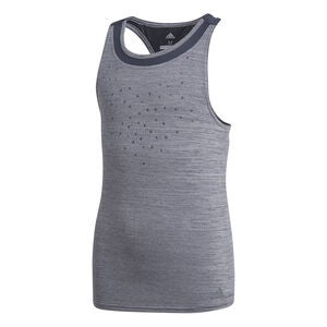 Adidas Girls Dotty Tank Träningslinne, Legend Ink