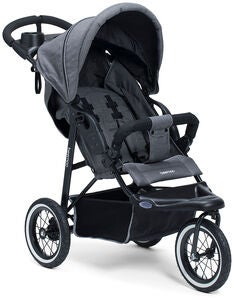 Beemoo Sport City Joggingvagn, Grey Melange