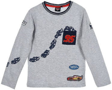 Disney Cars T-Shirt, Ljusgrå