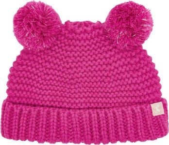 Tom Joule Double Pom Pom Mössa, True Pink
