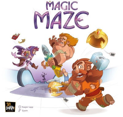 Magic Maze Familjespel