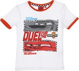 Disney Cars T-Shirt, Vit