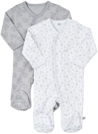 Pippi Pyjamas 2-pack, Harbor Mist