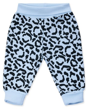 Tiny Treasure Willow Byxa 2-Pack, Baby Blue/Leo