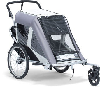 North 13.5 Roadster+ Cykelvagn, Grey
