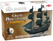 Tactic Pussel 3D Puzzle The Queen Anne's Revenge