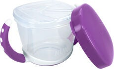 NUK Easy Learning Snack Box Matlåda, Violet