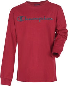 Champion Kids Långärmad T-Shirt, Biking Red