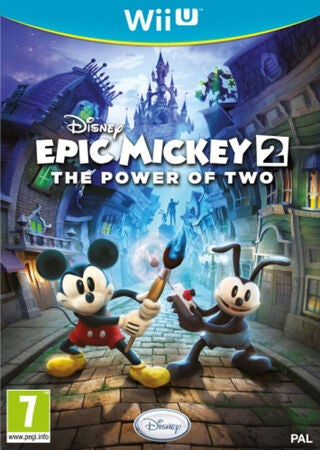 Disney TV-Spel Epic Mickey 2 Wii U