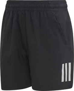 Adidas Boys Club 3-Stripes Shorts, Black