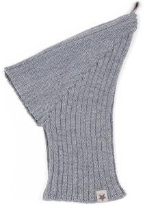 Huttelihut Pixie Elefanthut Balaklava, Light Grey