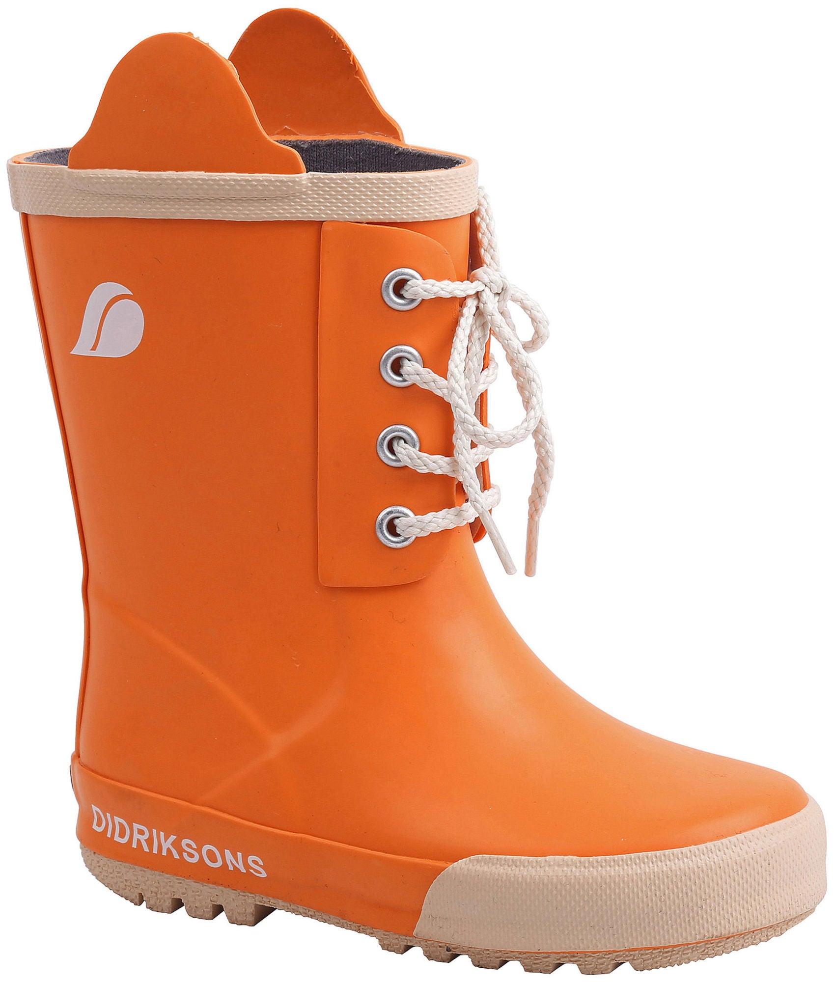 Didriksons Splashman Gummistövel Sun Orange 27