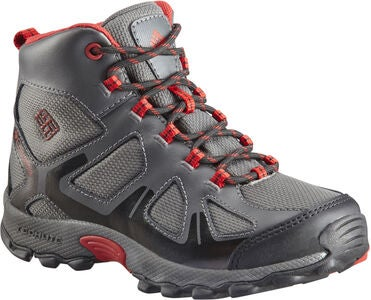 Columbia Youth Peakfreak Sportsko, Grey/Red