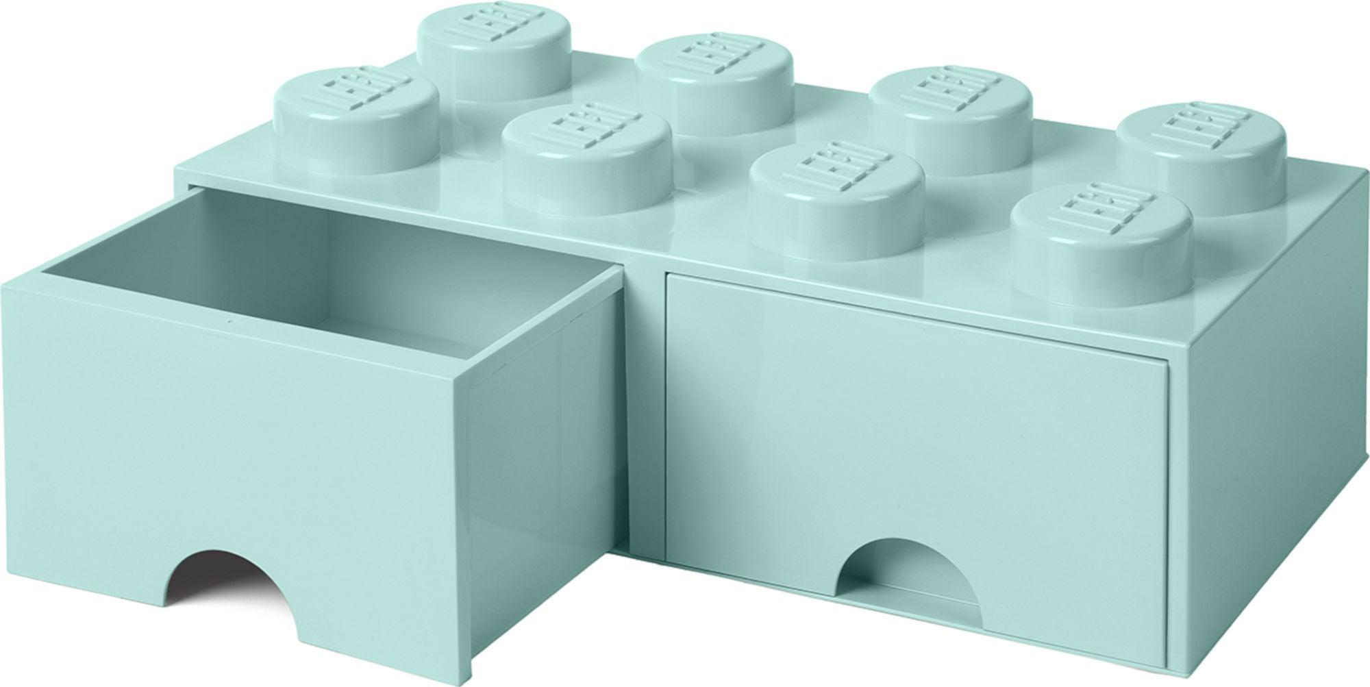 LEGO Förvaring med låda 8, Turkos
