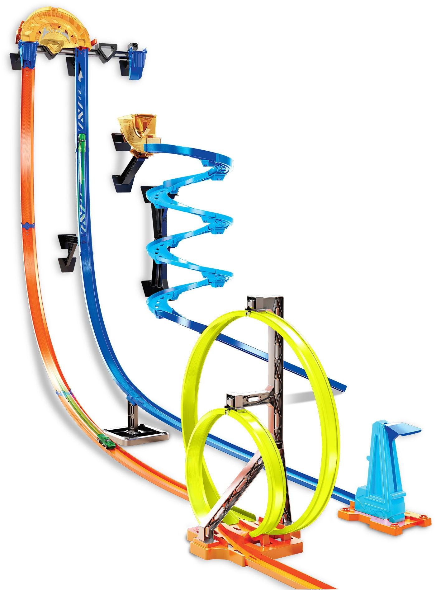 Hot Wheels Bilbana Track Builder Track Set