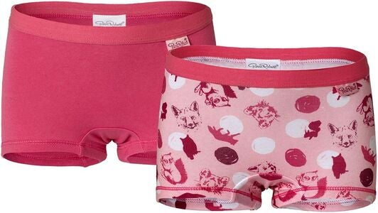 Pierre Robert Kids Boxer 2-pack, LightPink/Pink