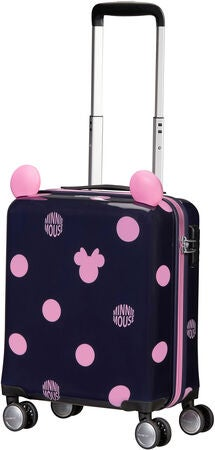 Samsonite Disney Spinner Resväska 22L, Minnie Pink Dots