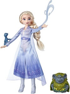 Disney Frozen 2 Dashion Docka Elsa Pappsen- Och Salamander