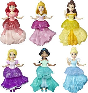 Disney Princess Rainbow Collection Figurer 6-pack