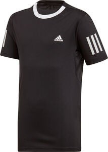 Adidas Boys Club 3-Stripes T-shirt Träningströja, Black