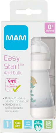 MAM Easy Start Anti-Kolik Nappflaska 160 ml, Beige