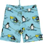 Småfolk Badshorts Surf Penguin, Air Blue