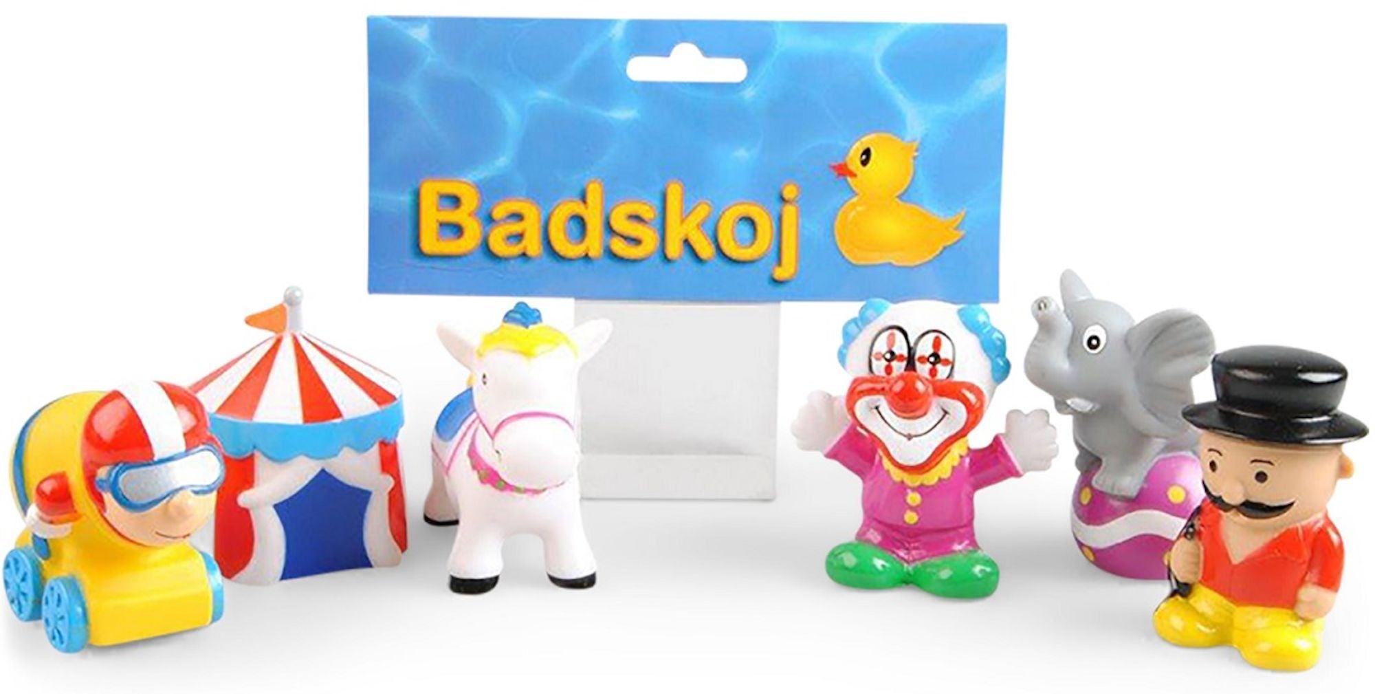 CarloBaby Badleksak Cirkusfigurer 3-pack