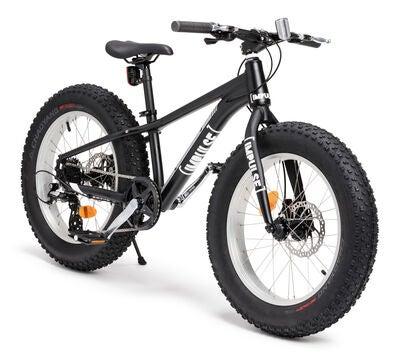 cykel med stora däck