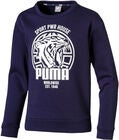 Puma Alpha Graphic Crew Tröja, Peacoat