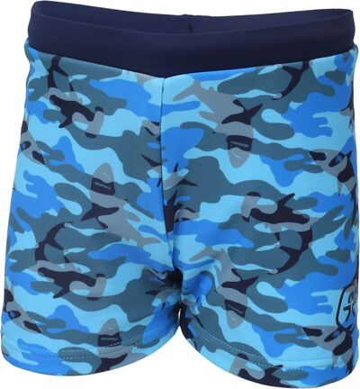 Color Kids Erland Badshorts UV 40+, Estate Blue