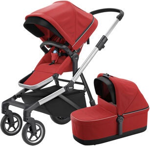 Thule Sleek Duovagn, Energy Red