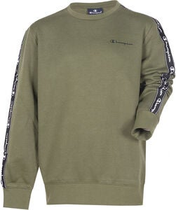 Champion Kids Crewneck Tröja, Winter Moss