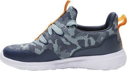 Hummel Actus Camo Jr Sneaker, Blue Nights